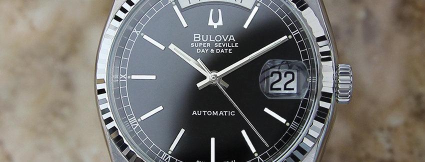 1980 Bulova Super Seville Men's Watch