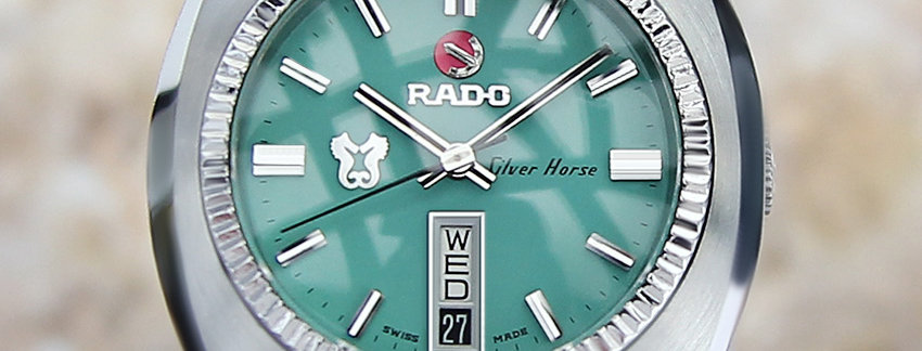 Rado Silver Horse 37mm Men's Watch