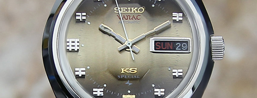 Vintage King Seiko Vanac Automatic52566000Watch | WatchArtExchange