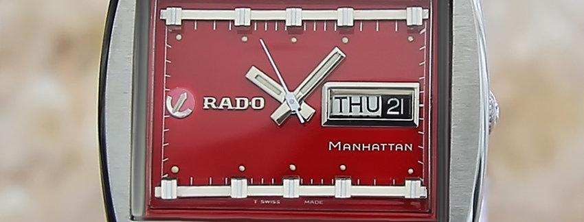 Rado Manhattan Red Men's Watch