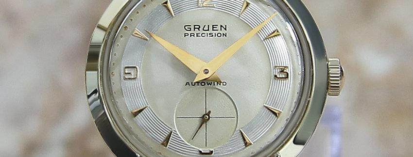 1950s Gruen Watch CoSwiss Made Men's Watch