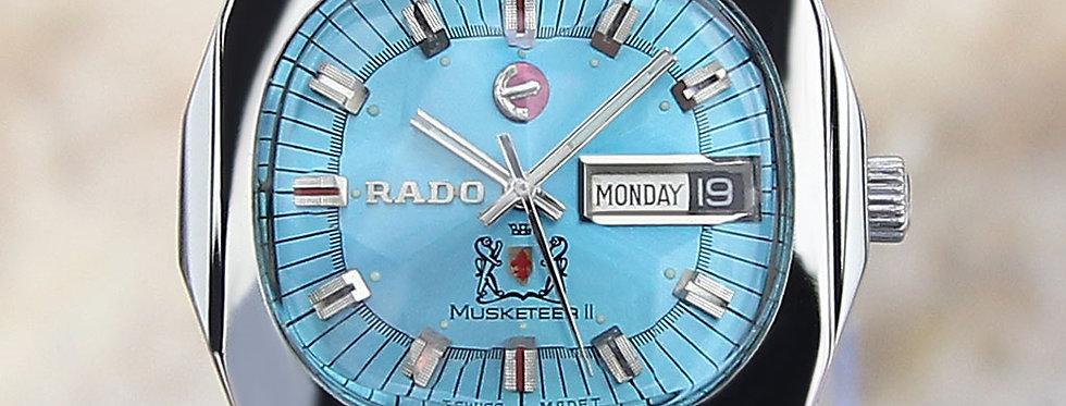 1968 Rado Musketeer II Watch