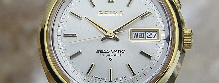 Seiko BellMatic Automatic Watch