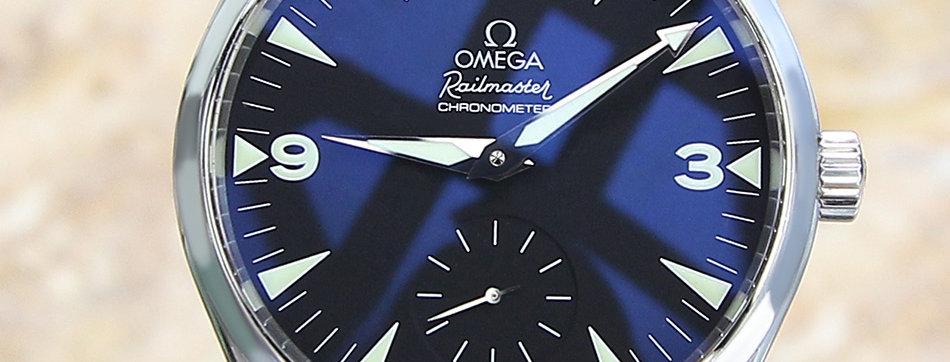 Omega Seamaster Aquaterra 49mm Railmaster Cal 2201 Watch