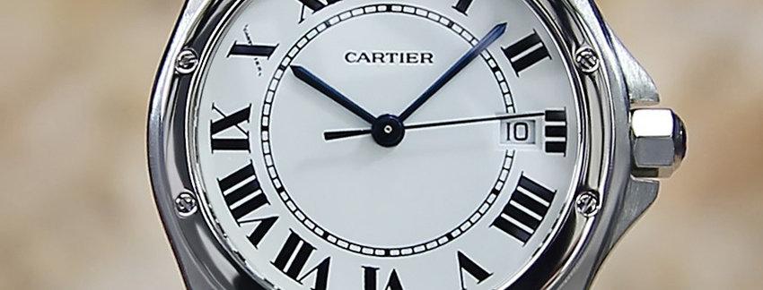 Unisex Cartier Santos Ronde 1561 1  Luxury Watch