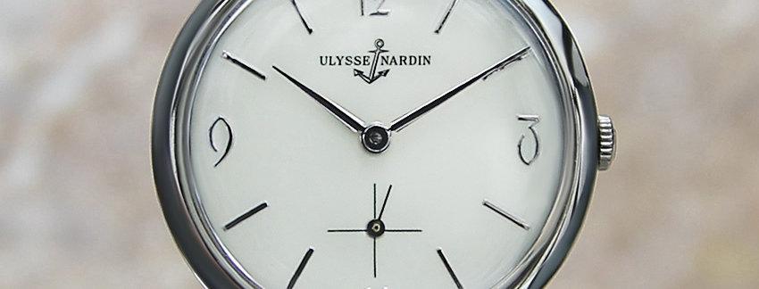 Ulysse Nardin Rare VintageMechanical Swiss Watch | WatchArtExchange