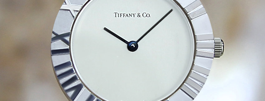 Tiffany & Co Atlas Ladies 925 Silver Swiss Watch | WatchArtExchange