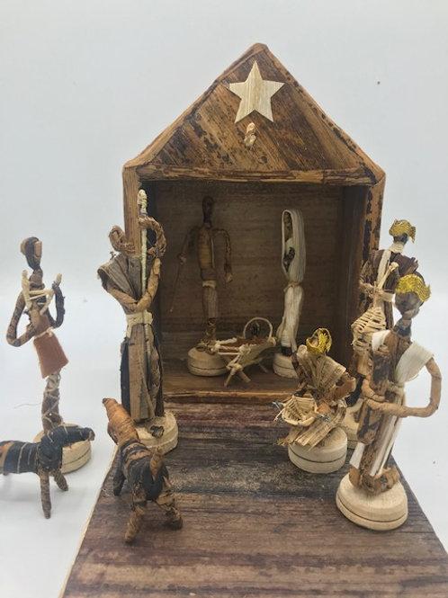 Handmade Kenyan Nativity