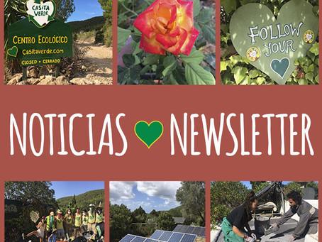 Casita Verde News - Autumn 2020