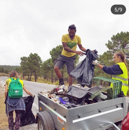 Collecting more trash