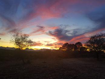Sunset at Casita Verde Granada