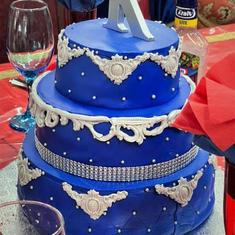 Bishop's Birthday Cake  June 29