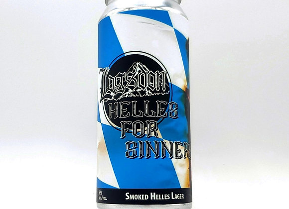 16oz Can Helles for Sinners