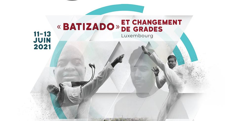 « Batizado » et changement de grades