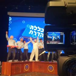 Israeli Police Purim Event