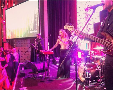 Last night's gig fronting on the Savoy B