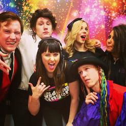 My Wedding Singer crew #lovethem #pracc