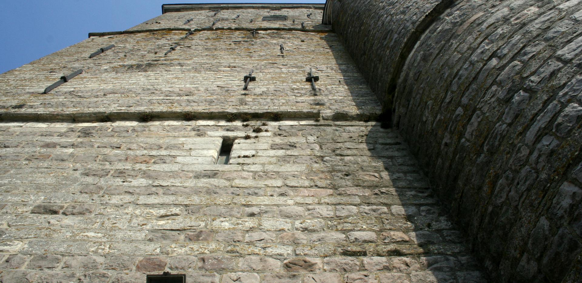 Le  Donjon  moyenâgeux  de  l'église