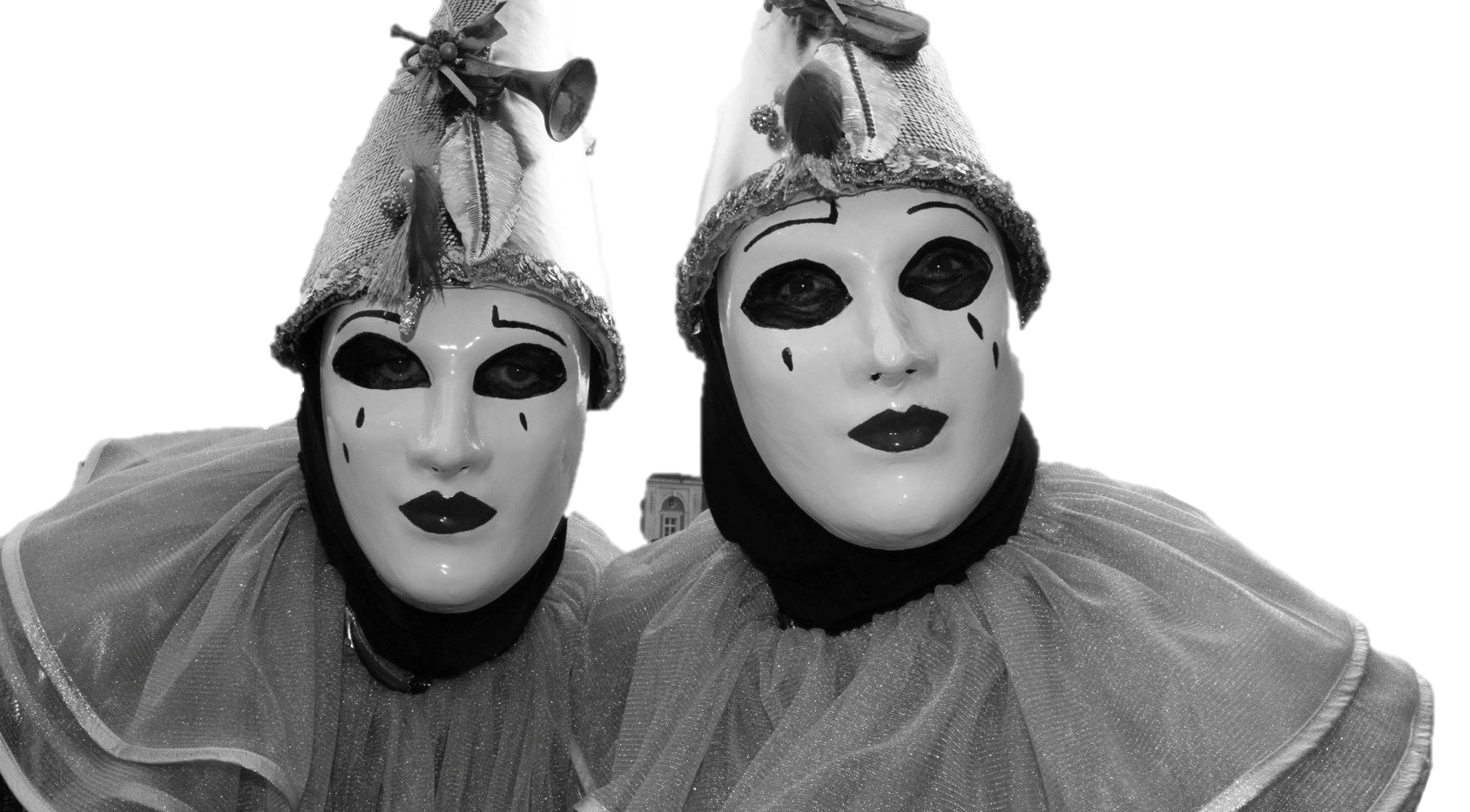 Black & White clowns