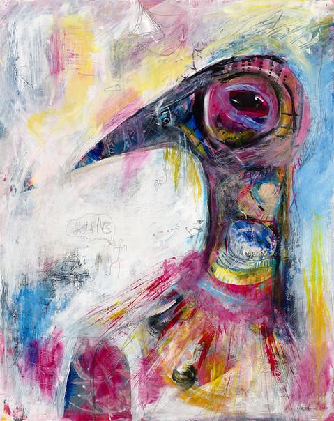 Spirit Bird, 2016 -Not for sale.