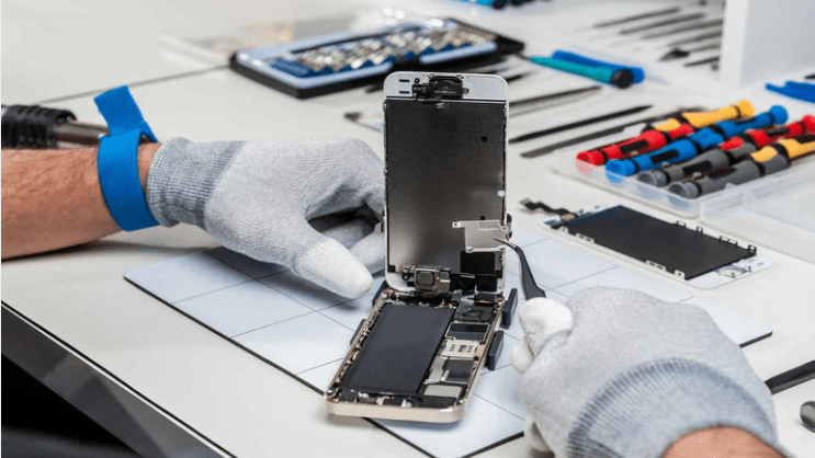 Réparation de téléphones