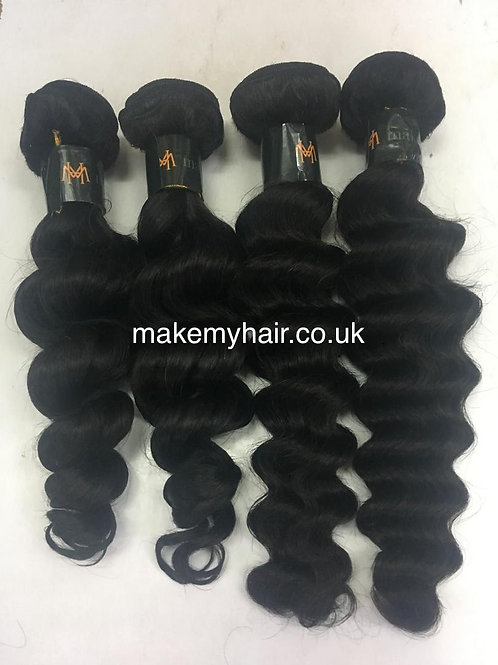 Unprocessed virgin Brazillian hair bundles