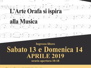 L'ARTE ORAFA SI ISPIRA ALLA MUSICA