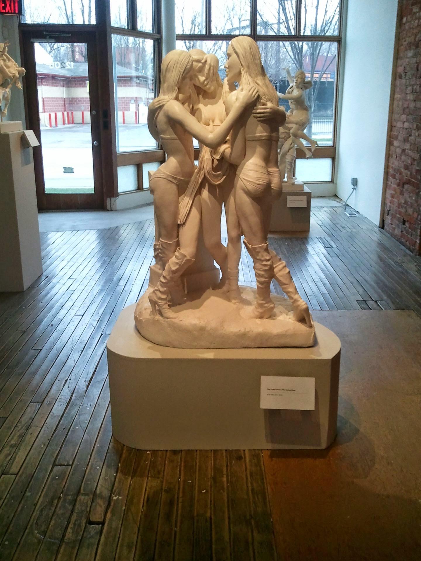Sarah Hahn Sculpture Kardashians 7