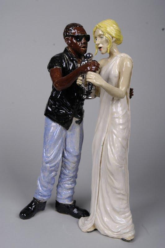 Sarah Hahn Sculpture - Kanye 2