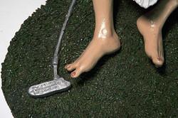 Sarah Hahn Sculpture Tiger Woods 7