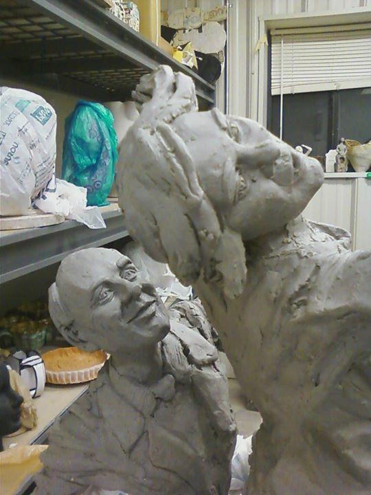 Sarah Hahn Sculpture - Apollo 3