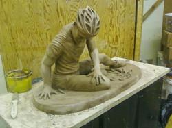 Sarah Hahn Sculpture - Lance 3