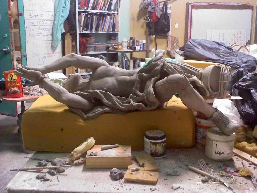 Sarah Hahn Sculpture - Tebow 2