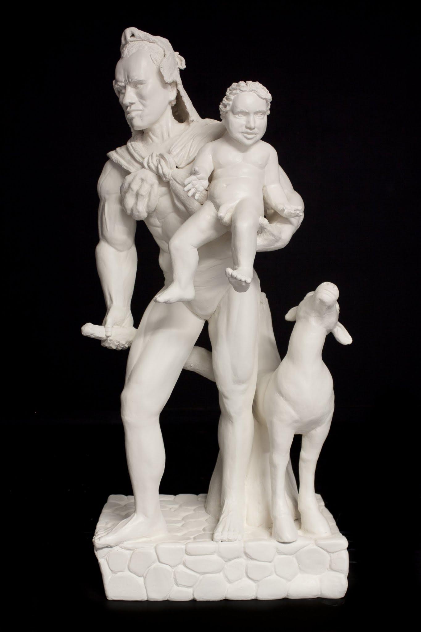 Sarah Hahn Sculpture Arnold 1