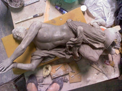 Sarah Hahn Sculpture - Tebow 3