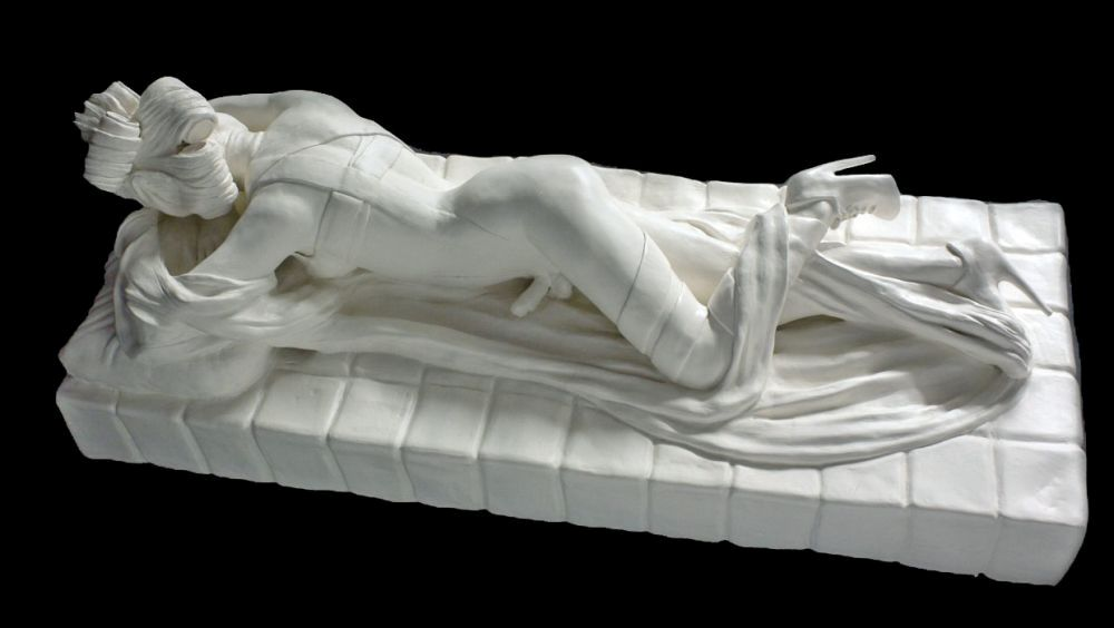 Sarah Hahn Sculpture - Lady Gaga 3