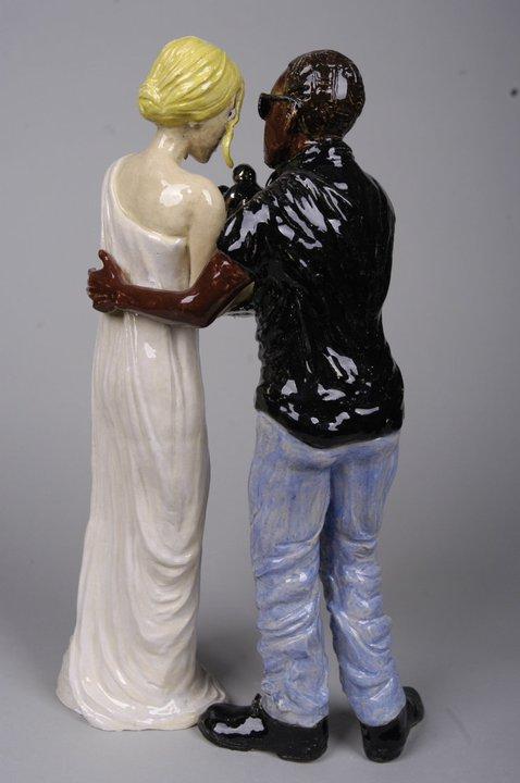Sarah Hahn Sculpture - Kanye 1