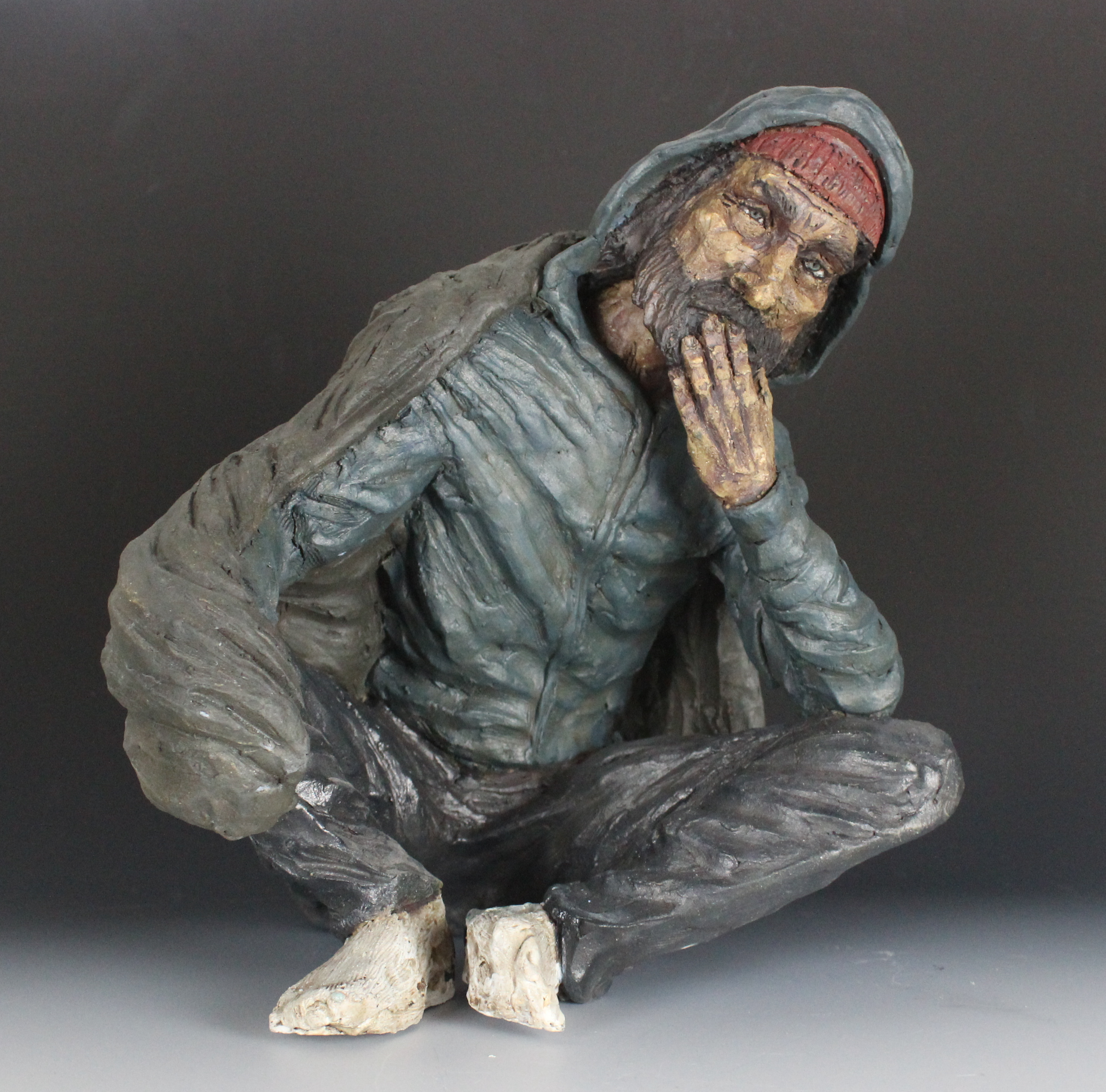 homeless maquette