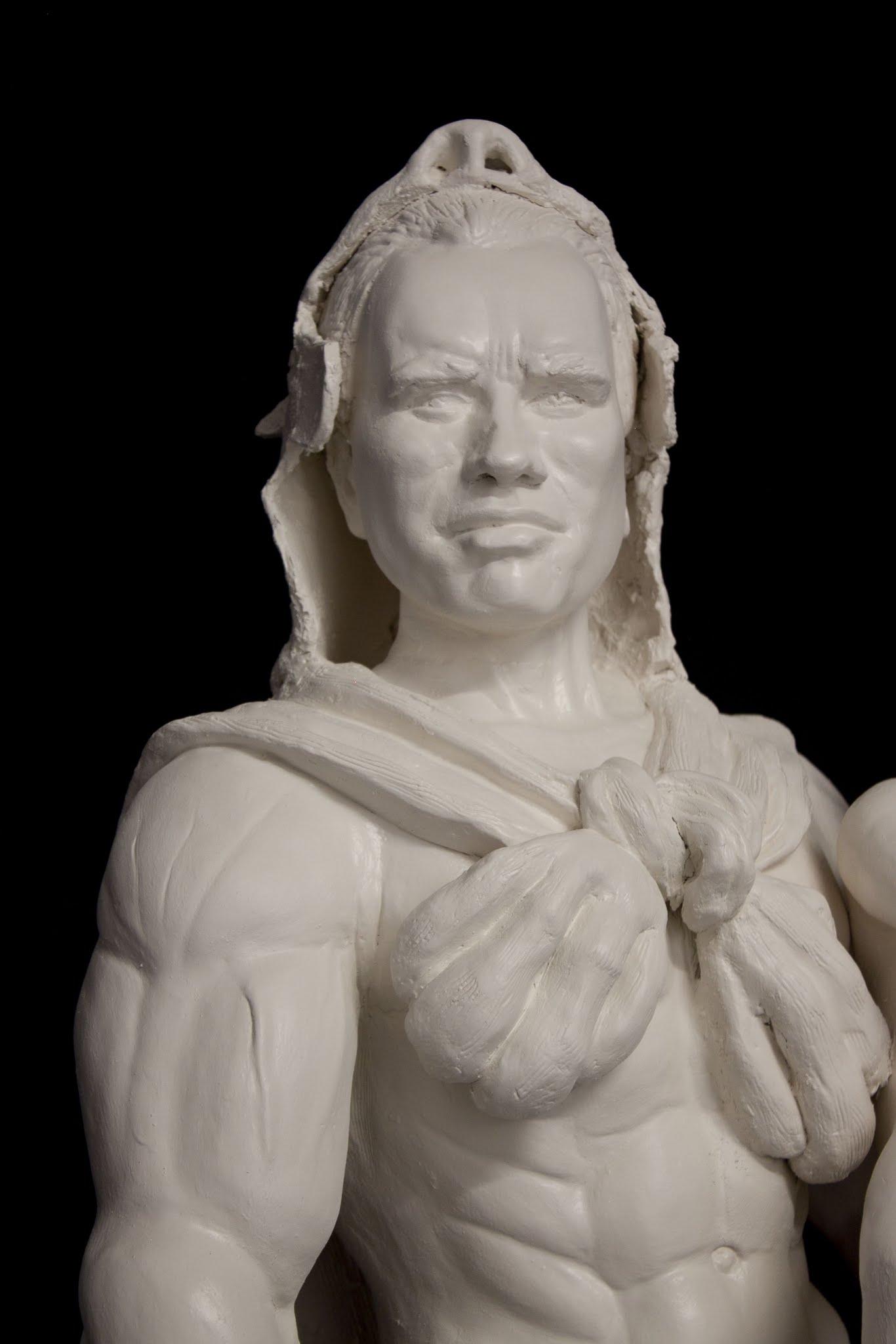 Sarah Hahn Sculpture Arnold 2
