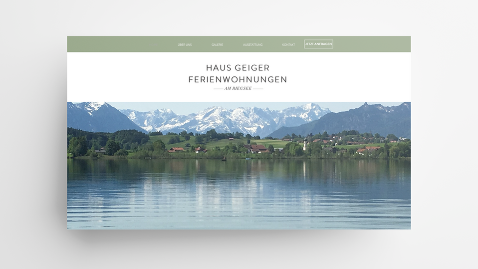Kunde: Ferienwohnungen Geiger