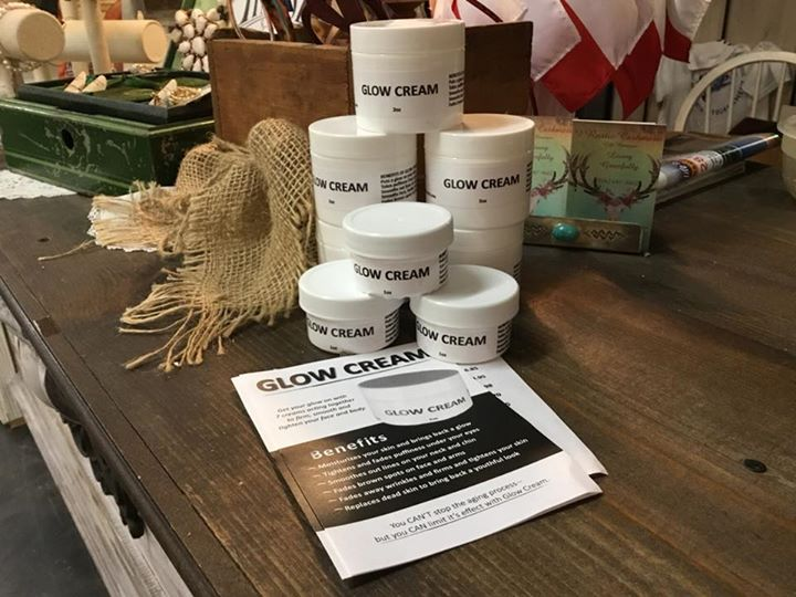 Glow Cream now at Rustic Cashmere