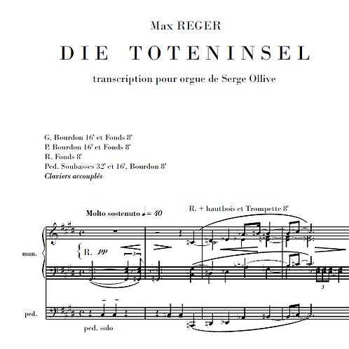 Reger : The Isle of the Dead (organ transcription)