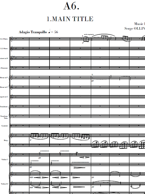 A6 Op.12 for orchestra (film music)