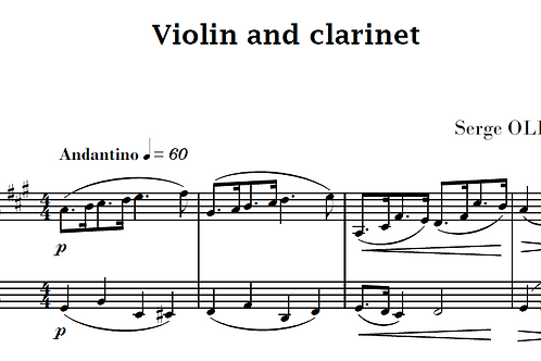 5 Duets Op.30