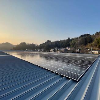 スーパーコンボ竹田店 太陽電池容量:379.20kW 年間予測発電量:439,638kWh