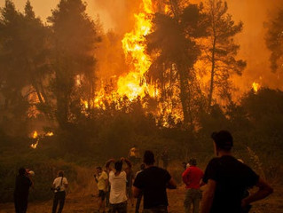 Greece Wildfires