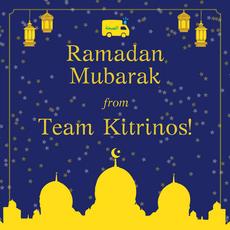 Ramadan Mubarak from 'Team Kitrinos'!
