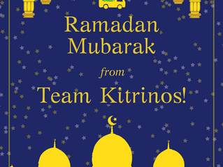 Ramadan Mubarak from 'Team Kitrinos'!