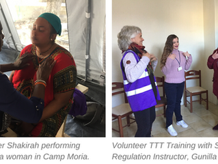 """Like magic!"" How 'Trauma Tapping' helped one refugee interpreter..."