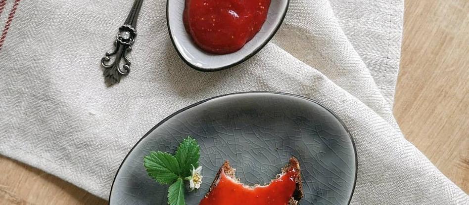 Low Carb Erdbeer Marmelade